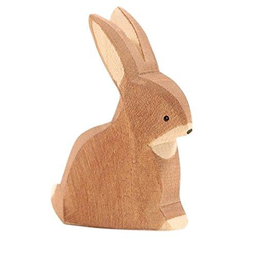Ostheimer 15001 Rabbit Figurine Sitting