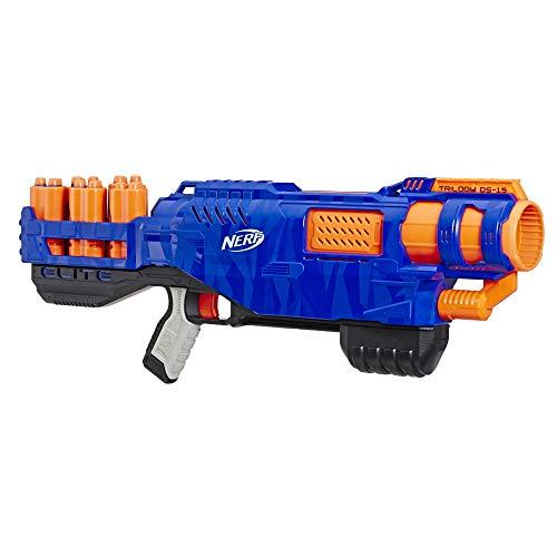 Hasbro E2853EU5 Trilogy DS-15 Nerf N-Strike Elite Spielzeug Blaster mit 15 Nerf Elite Darts und 5 Hülsen...