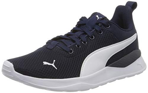 PUMA Anzarun Lite Jr Sneaker, Peacoat White, 39 EU