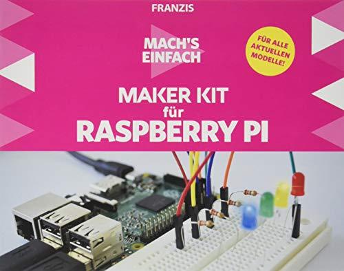 Franzis Mach's einfach: Maker Kit für Raspberry Pi | Keine Vorkenntnisse nötig! | Ab 14 Jahren