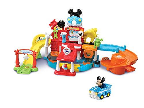 VTech 80-534804 Tut Tut Baby Flitzer - Mickys Autowerkstatt, Babyspielzeug, Spielzeugauto, Kinderauto,...