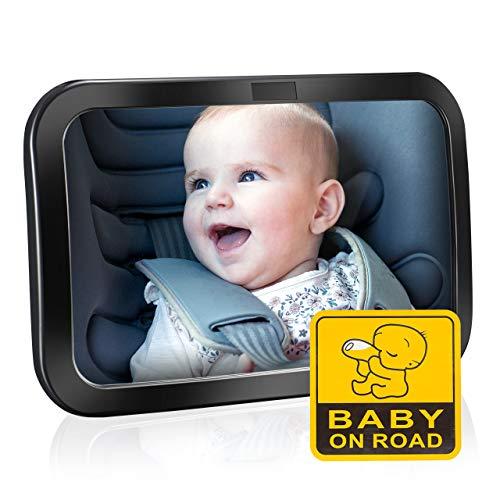 Rücksitzspiegel, Spiegel Auto Baby, Rückspiegel Baby Autospiegel Shatterproof Car Rückspiegel...