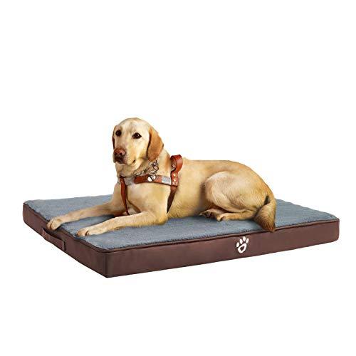 FRISTONE Orthopädisches Hundebett für Kleine Mittlere Große Hunde, Waschbar Hundematratze,...
