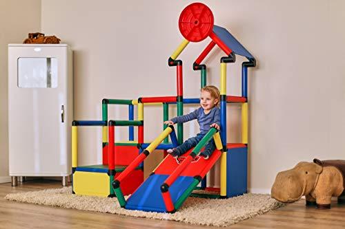 Quadro | Evolution | Klettergerüst für drinnen und draußen | Fördert Entwicklung von Kindern |...