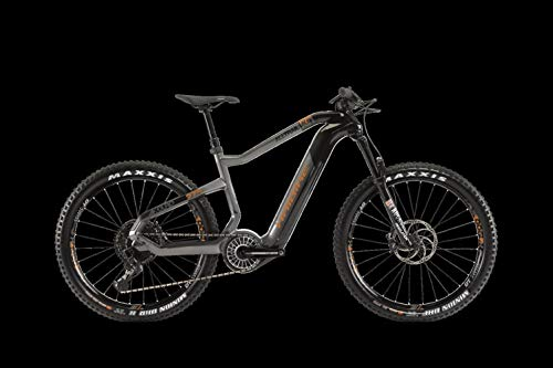 HAIBIKE XDURO AllTrail 6.0 Flyon Elektro Bike 2020 (M/46cm, Carbon/Titan/Bronze)