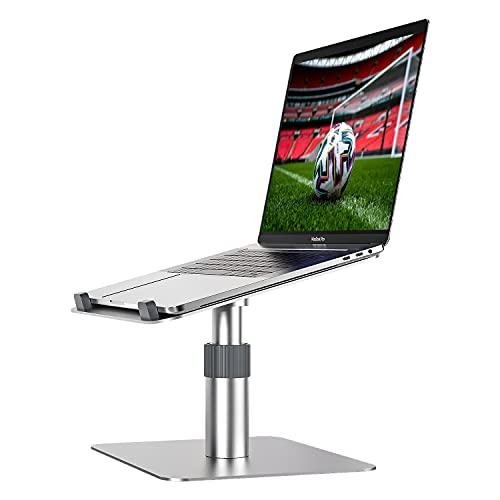 Newaner Laptop ständer Höhenverstellbar Aluminum, Computer Stand erhöhung 360°drehbarer, Kompatibel...