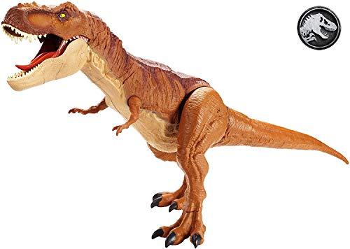Mattel FMM63 - Jurassic World Dinosaurier Spielzeug Riesendino Tyrannosaurus Rex, riesiger T-Rex...