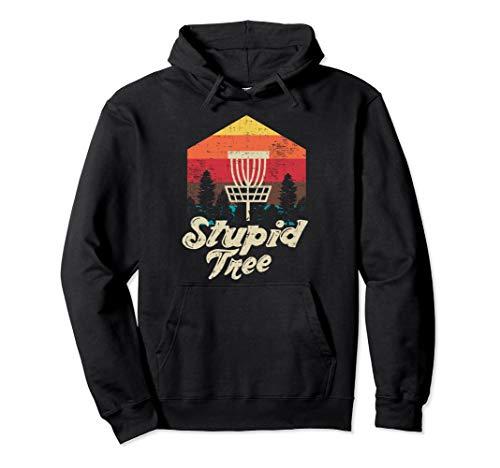Stupid Tree Disc Golf Extreme Frisbee Geschenk-Design Pullover Hoodie