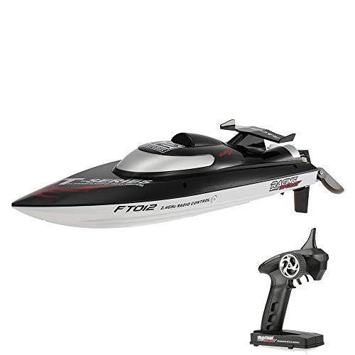 Goolsky Feilun FT012 RC Brushless Rennboot Speedboot 45km/h High Speed mit Wasserkühlung...
