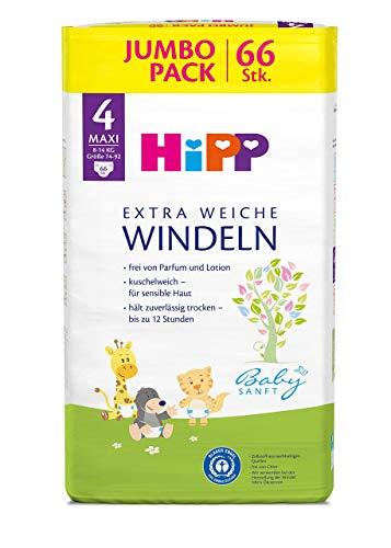 HiPP Babysanft Windeln Maxi 4 Jumbo