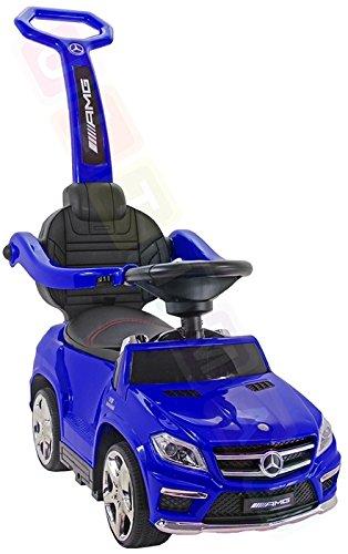 Mercedes Rutschauto Benz GL63 AMG Lizenz Rutscher Kinderauto Rutschfahrzeug 4in1 Sale !!! (blau)