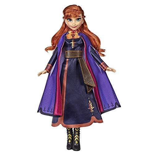 Hasbro E6853GC0 Disney Die Eiskönigin Singende Anna Puppe mit Musik in lila Kleid zu Disneys Die...