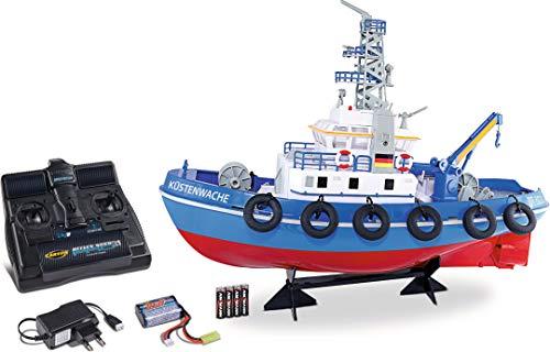 Carson Küstenwache TC-08 2.4G 100% RTR, Ferngesteuertes, RC Boot, mit Funktionen, inklusive...