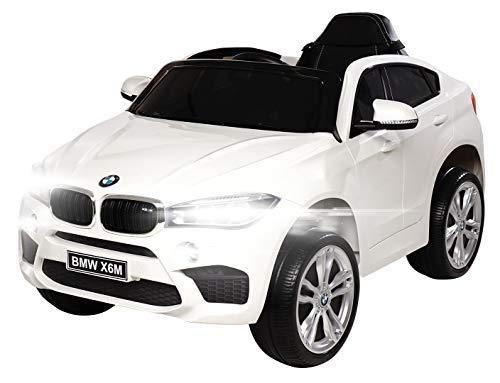 Actionbikes Motors Kinder Elektroauto BMW X6M F16 - Lizenziert - 90 Watt Motor - Eva Vollgummi Reifen -...