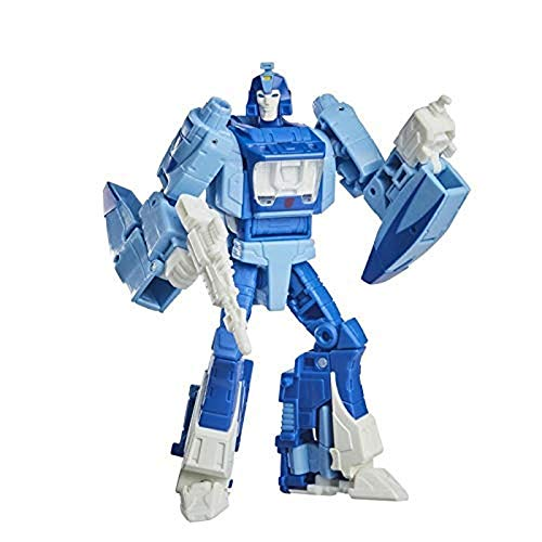 Transformers Spielzeug Studio Series 86-03 Deluxe-Klasse Kampf um Cybertron 1986 Blurr Action-Figur –...