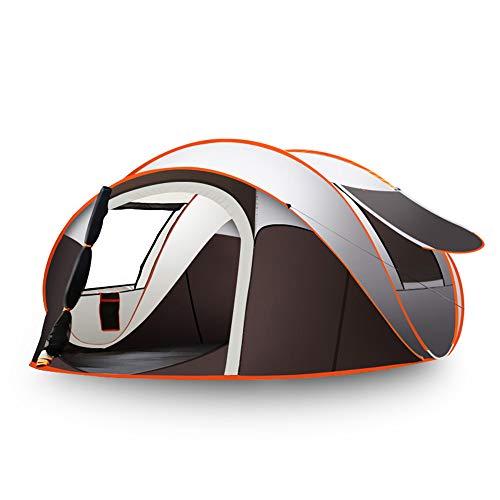 WZFC Camping Zelt, 5-8 Personen Outdoor Pop Up Wasserdicht High Peak Zelt,für Trekking,Festival mit...