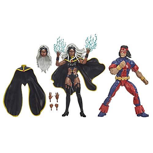 Hasbro Marvel X-Men Series 15 cm große Storm und Marvel's Thunderbird Action-Figuren, ab 4 Jahren