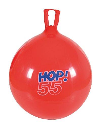 Gymnic 80.55 - Hüpfball Hop 55, rot