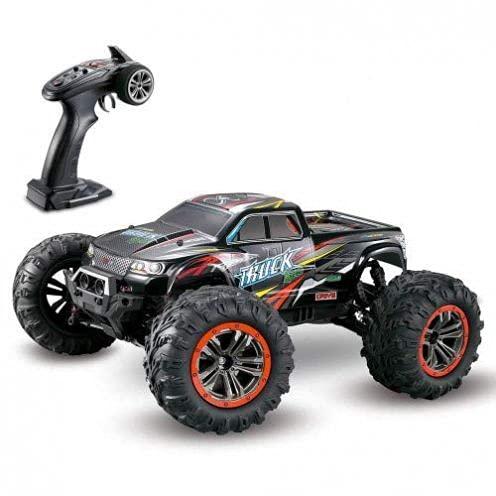 s-idee® 9125 + 2 Akkus RC Auto 1:10 4WD Buggy wasserdichter Monstertruck mit 2,4 GHz ca. 50 kmh schnell,...