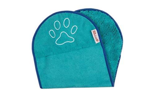 Pastabello Hundehandtuch Mikrofaser Dog Towel Trockentuch super saugfähig Massagetuch 36x80cm - mit...