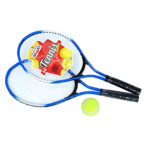Wiemann Lehrmittel Tennis-Set, 4-teilig, inkl. Tennisschläger, Ball und Tasche