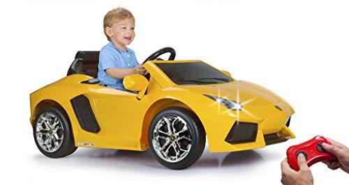 FEBER Famosa 800011471 - Lamborghini - Elektro-Sportspielzeugfahrzeug für Kinder von 3 bis 6 Jahren, 6V,...