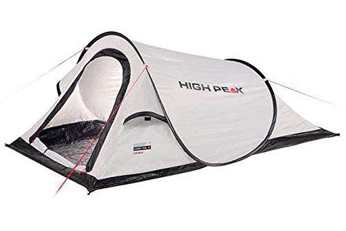 High Peak Wurfzelt Campo 2, Pop Up, für 2 Personen, Festivalzelt mit Wannenboden, super leichtes...