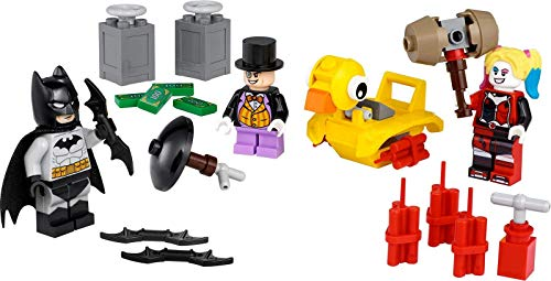 Superhelden-Spielzeug 'Batman vs. Pinguin und Harley Quinn' von LEGO DC