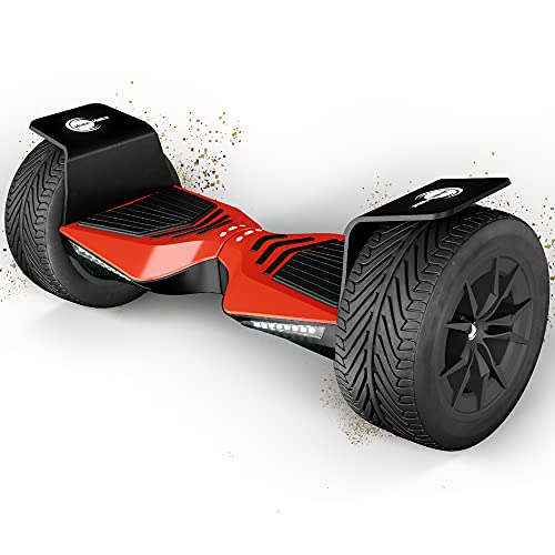 Balance Scooter, Hoverboard, F-Cruiser - Made In Germany (Rot)