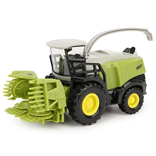 Tnfeeon Kinder Bauernhof Legierung Fahrzeug 1/42 Mini Mähdrescher Fahrzeug Modell Spielzeug frühes...