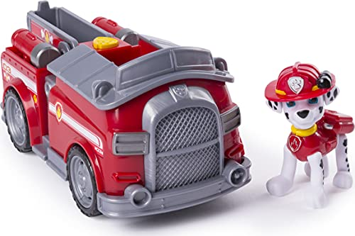 PAW PATROL 6045898 Marshall Core Basis-Fahrzeug-Spielzeug, Mehrfarbig