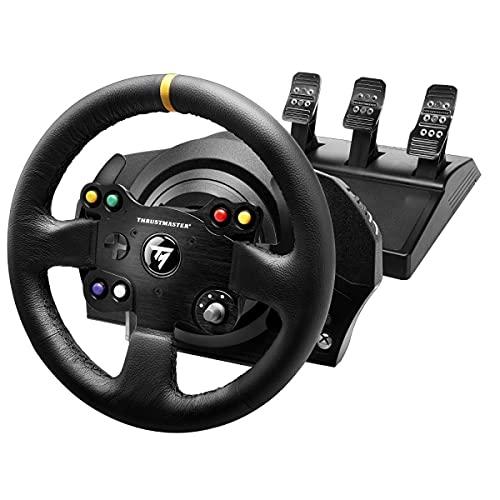 Thrustmaster TX Racing Wheel Leather Edition - Force-Feedback-Rennsimulator für Xbox One und PC -...