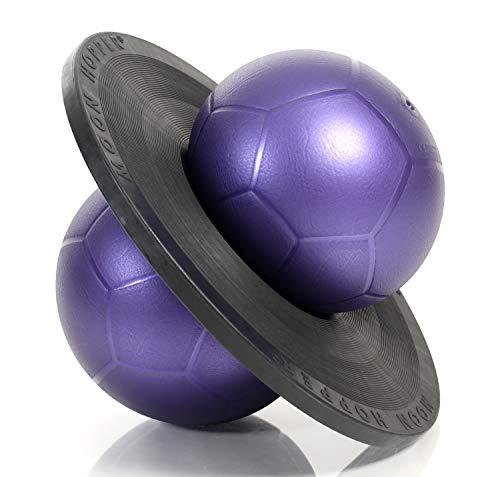 Togu Moonhopper Sport Hüpfball lila/schwarz, bis 110kg belastbar