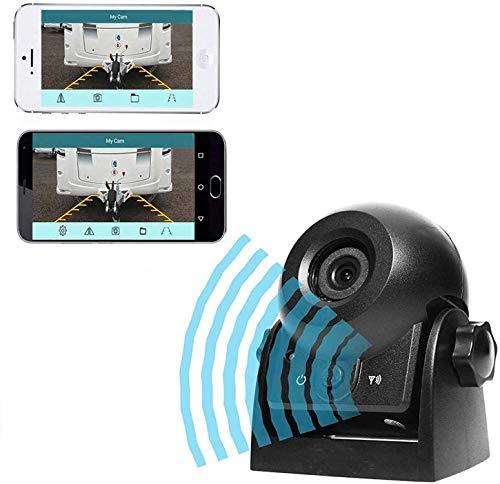 Auto Rückfahrkamera WiFi Magnetische Kamera Wasserdicht IP68-Backup-AutoKamera mit intelligenter APP...