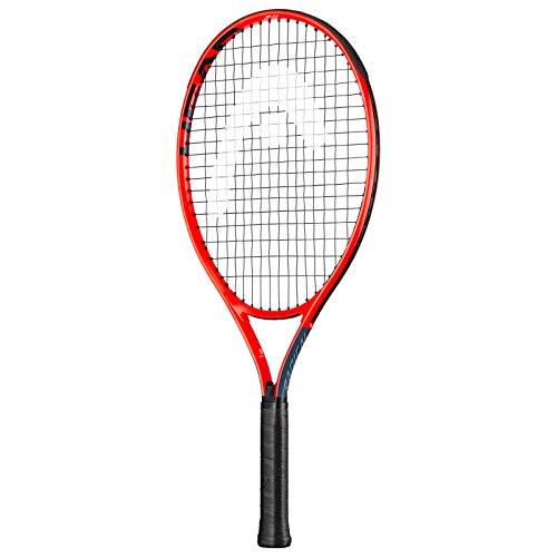 HEAD Unisex Jugend Radical Jr. 23 Tennis Racket, mehrfarbig, 6-8 Jahre