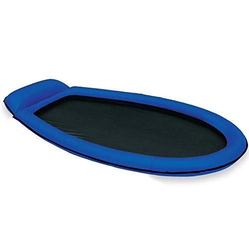 Intex Mesh Mat - Aufblasbarer Wasserhängematte - 178 x 94 cm - Blau