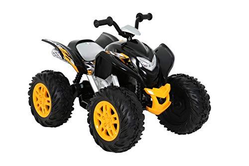 ROLLPLAY Elektro-Quad, Für Kinder ab 3 Jahren, Bis max. 35 kg, 12-Volt-Akku, Bis zu 4,5 km/h, Powersport...