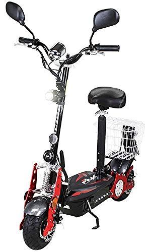 eFlux Street 40 Elektroroller E-Scooter - 800 Watt Motor - Scheibenbremsen - LED Scheinwerfer -...