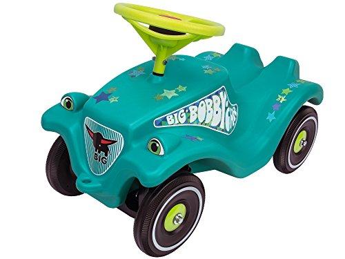 BIG-Bobby-Car Classic Little Star - Kinderfahrzeug mit Aufklebern für Jungen und Mädchen, belastbar bis...