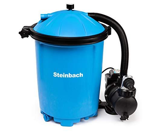 Steinbach Filteranlage Active Balls 75, Umwälzleistung 6,5 m³/h, 230 V/550 W, Anschluss Ø 32/38 mm,...