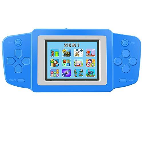 Bornkid Retro Handheld Spielkonsole für Kinder Tragbare Spiele Konsolen Eingebaut in 218 80er Klassische...