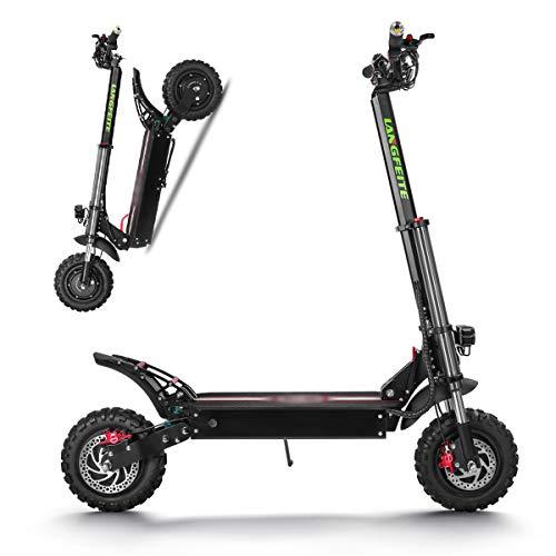 Elektroroller 2400W High Power Smart Scooter DREI Runden faltbar mit 60-70KM wiederaufladbaren...