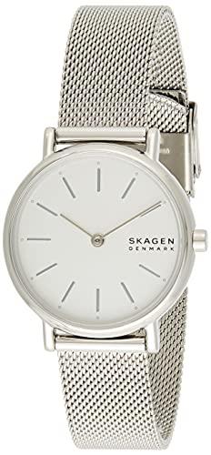 Skagen Damen Analog Quarz Uhr mit Edelstahl Armband SKW2692