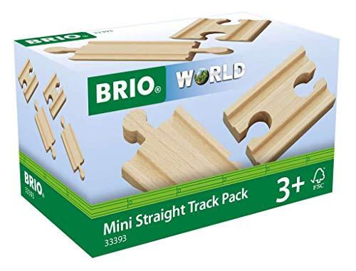 BRIO Bahn 33393 - 1/4 Ausgleichsschienen Mix