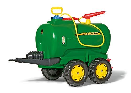 Rolly Toys rollyTanker John Deere Tankwagen (für Kinder 3-10 Jahre, mit Pumpe und Spritze, 30 Liter,...
