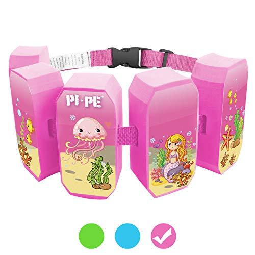 PI-PE Schwimmgürtel für Kinder - Schwimmhilfe ideal zum Lernen und toben - 5 Blöcke je nach...