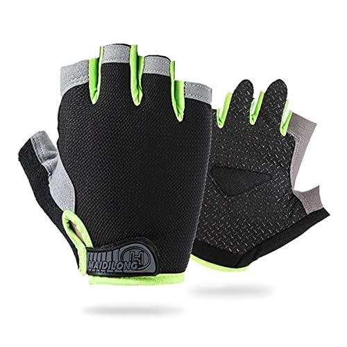 Keleily Fahrradhandschuhe für Kinder,1Paar Kinder Sport Handschuhe,Fahrradhandschuhe Gel gepolsterte...