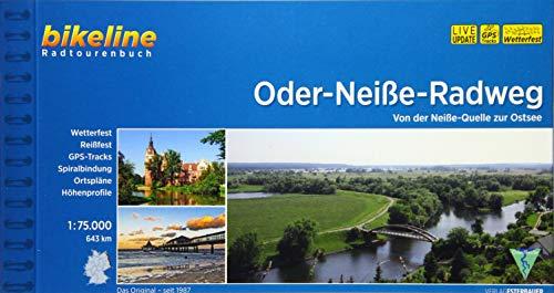 Oder-Neiße-Radweg: Von der Neiße-Quelle zur Ostsee, 1:75.000, 643 km (Bikeline Radtourenbücher)