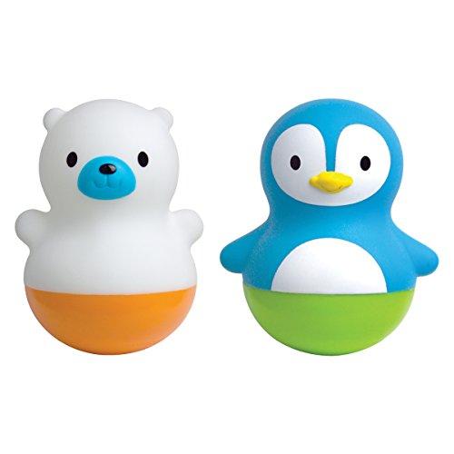 Munchkin - Bath Bobbers Schwimmtiere Badespielzeug, 2er-Pack