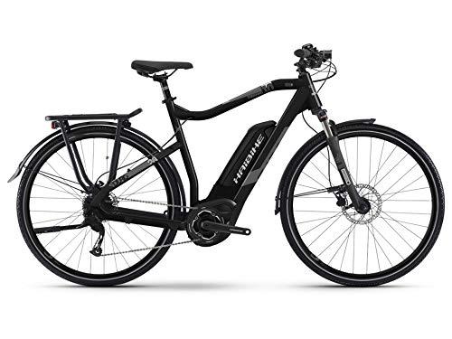 HAIBIKE SDURO Trekking 1.0 Bosch Elektro Fahrrad 2020 (28' Herren Diamant L/56cm, Schwarz/Titan/Grau matt...